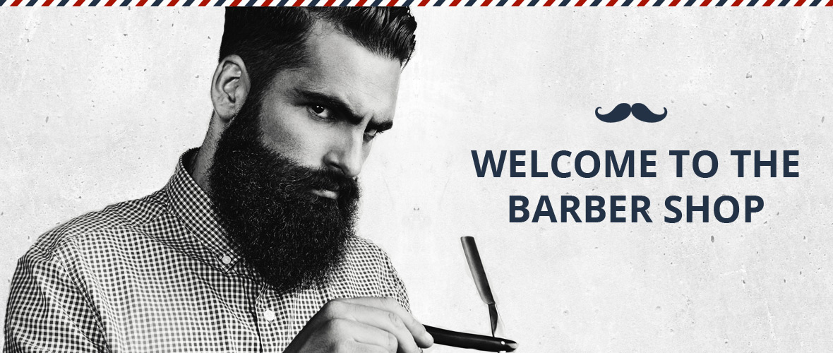 Willkommen im  Barbier-Laden in Schwerte